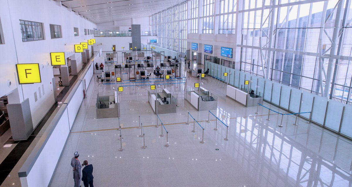 Abuja airport: Perhaps one day we'll get it right