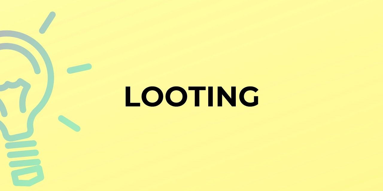 THE LOOTING OF NIGERIA: PART ONE