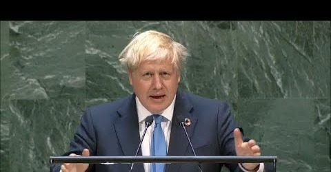 PM BORIS JOHNSON'S SPEECH. UNITED NATIONS, SEPTEMBER 2019